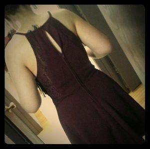 Super cute lazy zip-up dress